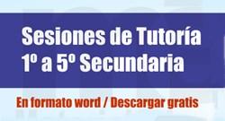 sesiones de tutoria secundaria