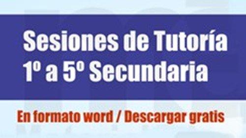 Sesiones de tutoría para Secundaria